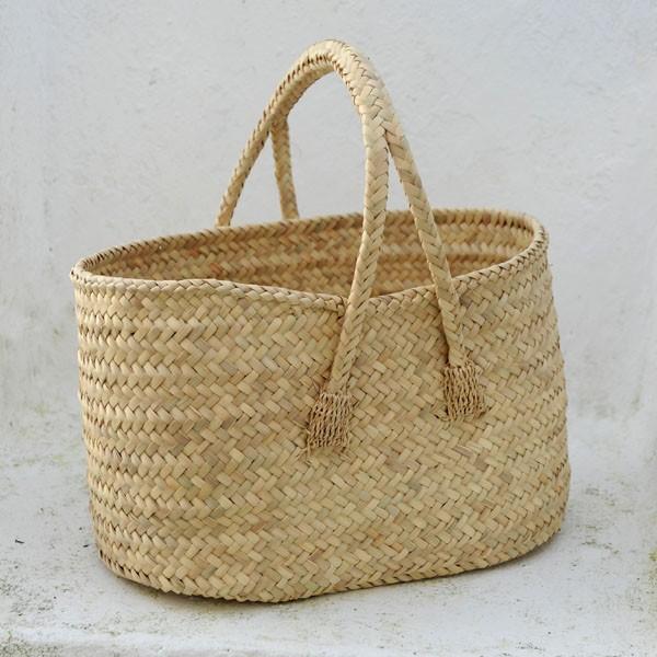 Cesta de herramientas cester a tradicional - Cestos de palma ...