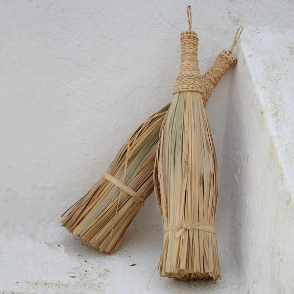 Escoba de mano cester a tradicional - Escobas de palma ...